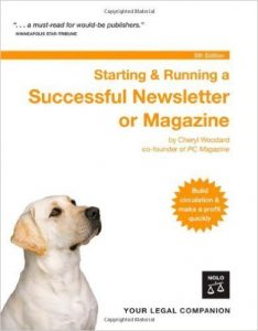 Starting & Running a successful Newsletter or Magazine by Nolo