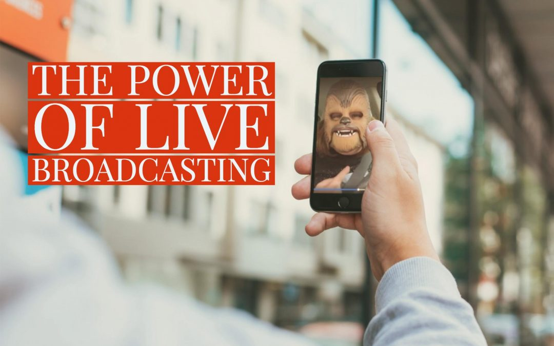Chewbacca mask & the power of live broadcasting