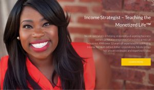 Income strategiest Nicole Walters
