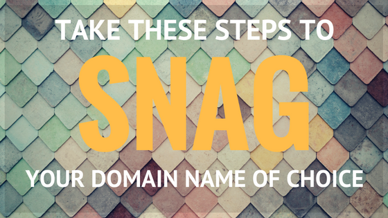 What to do if the domain name you want is taken?