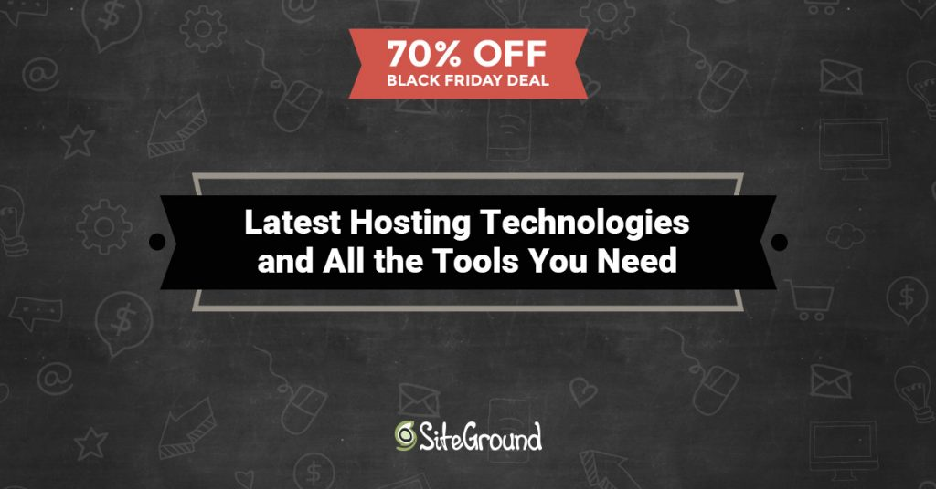 SiteGround web hosting black friday deals
