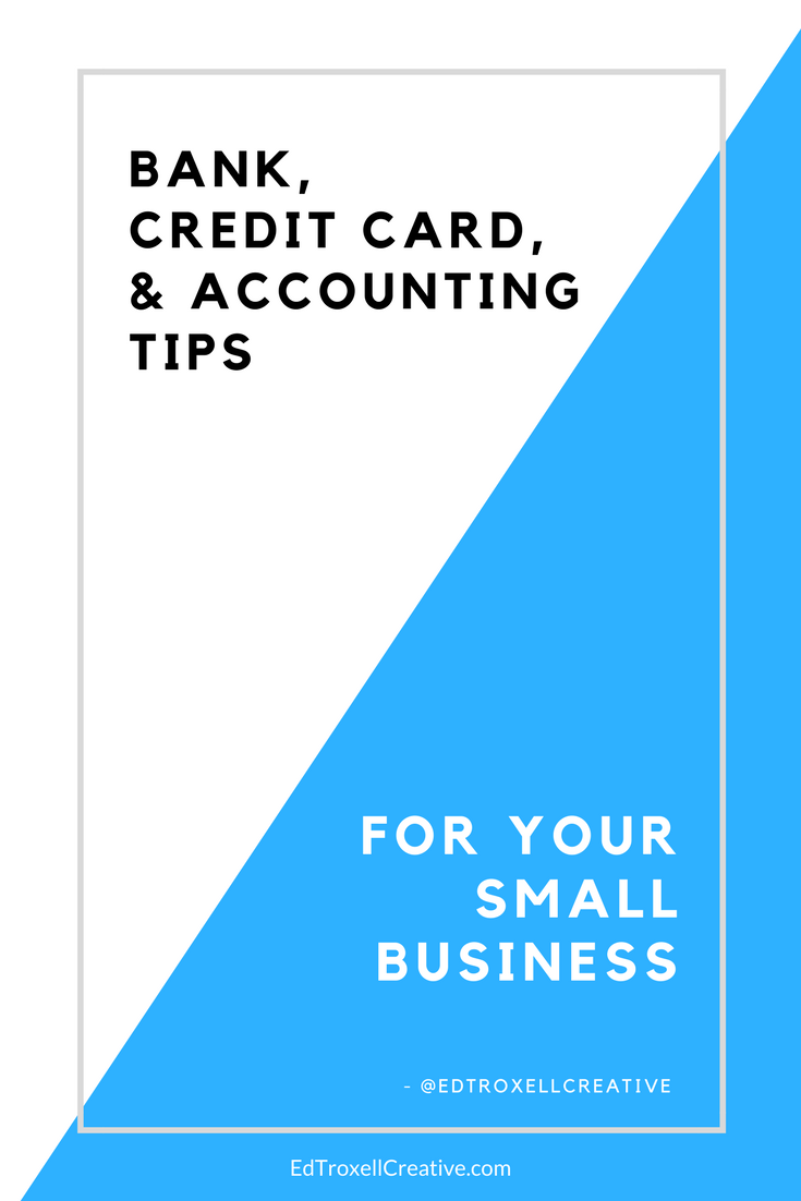 Bank credit card accounting tips for small businesses for Credit card small business