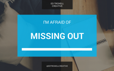 I'm afraid of missing out